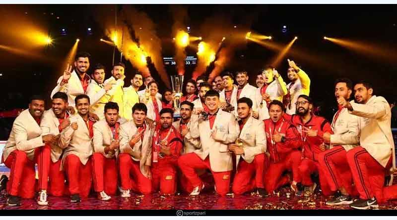 pro kabaddi league winners