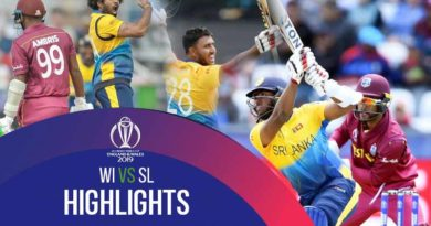 West Indies vs Sri Lanka Match Highlights