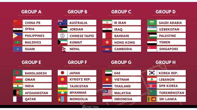 asia qualifiers announce