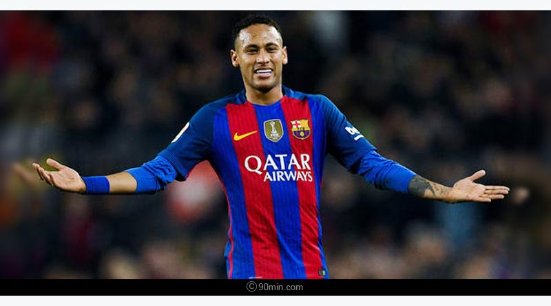 barcelona to resign neymar