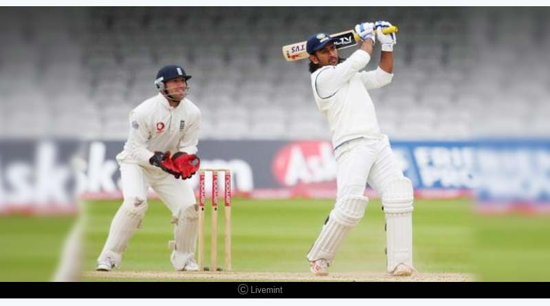 dhoni records against england