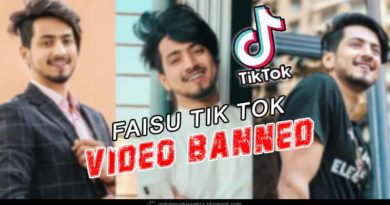 faisu tik tok video banned