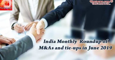India monthly roundup of M&As and tie-ups in June