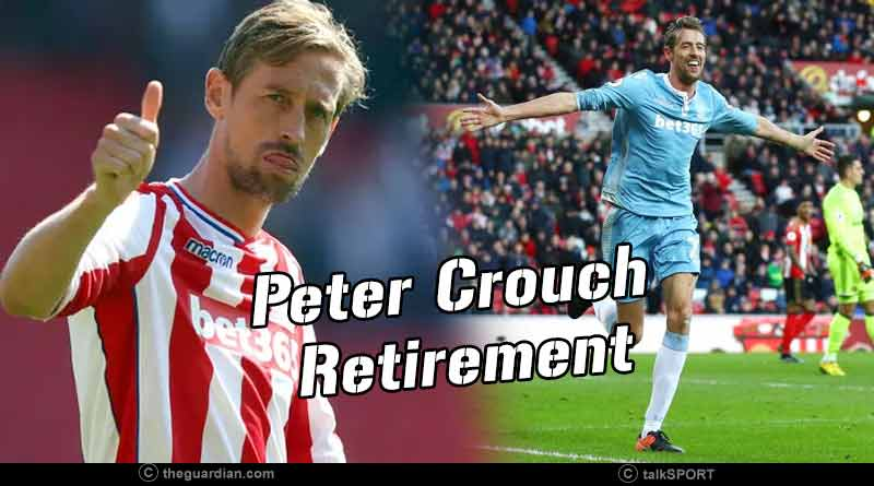 peter crouch retirement