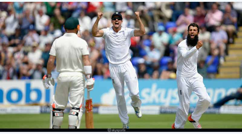 2nd ashes test match