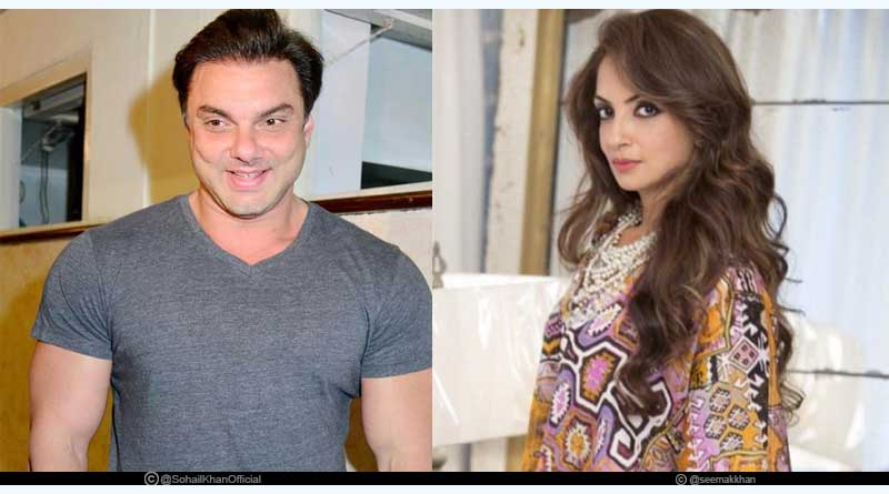 Sohail Khan and Seema Sachdev
