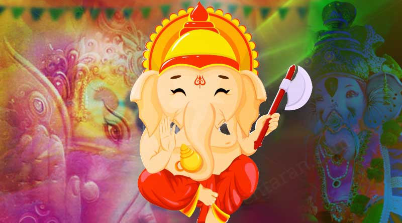 ganesh different colours significance