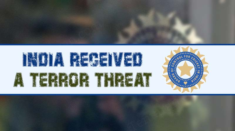 indian team recieved threat mail