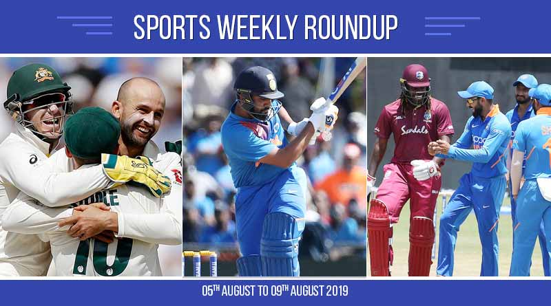 sports weekly roundup 05th august to 09 august