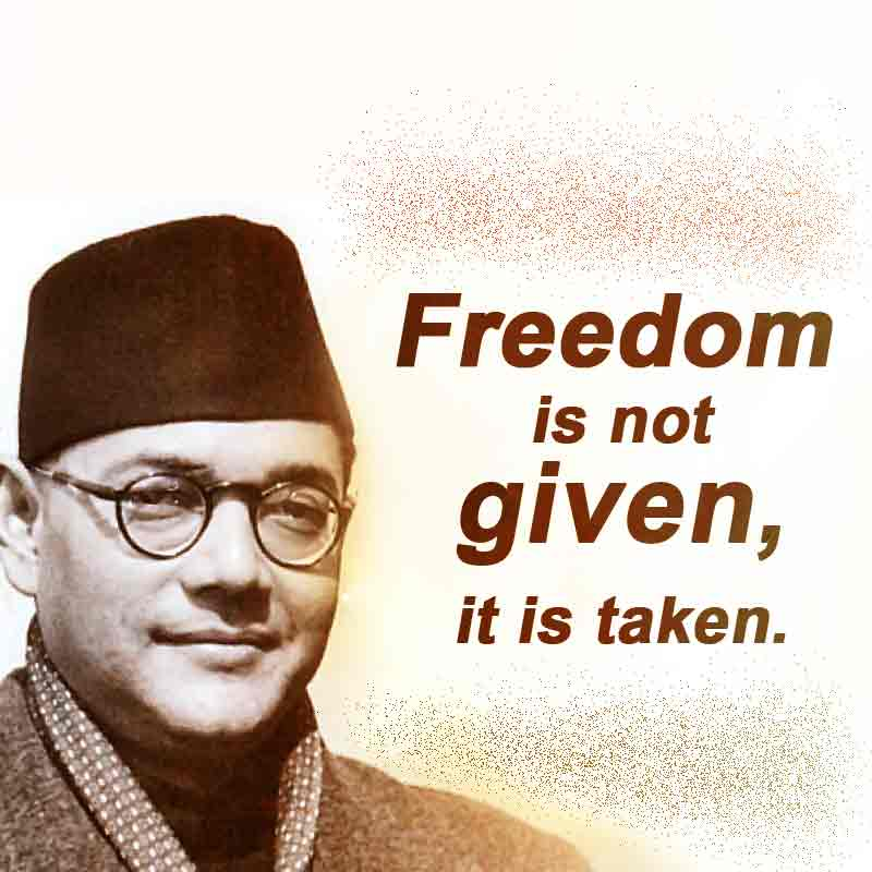 subhas chandra bose quotes7