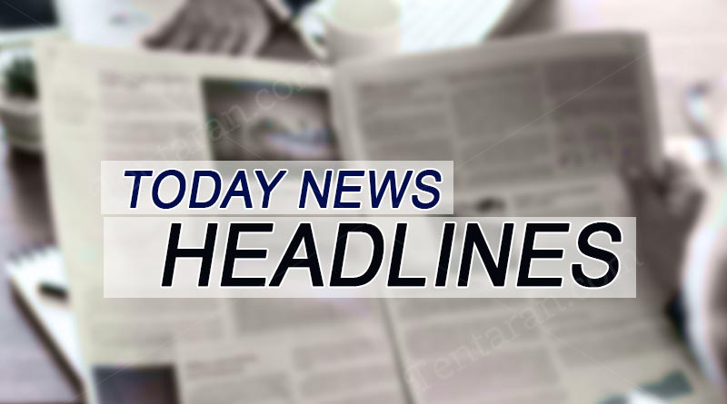 today news headlines 1st august