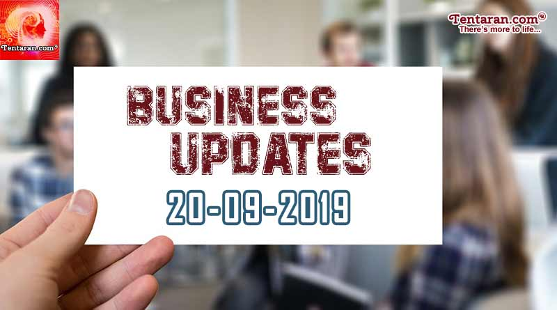 latest india business news 20th september