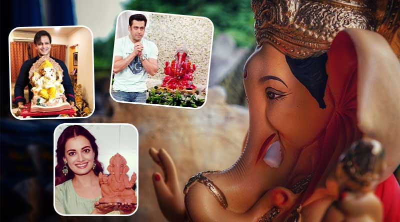 Celebrities who brought home the beautiful Ganesha Idol
