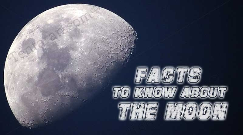 facts to know about the moon