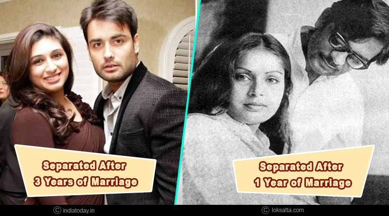 bollywood couples who are separated but not divorced