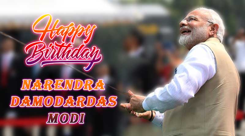 happy birthday narendra modi photo wishes