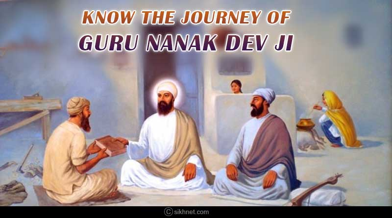 know the journey of guru nanak dev ji