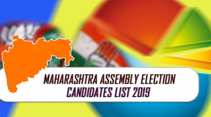 maharashtra assembly election 2019 candidate list