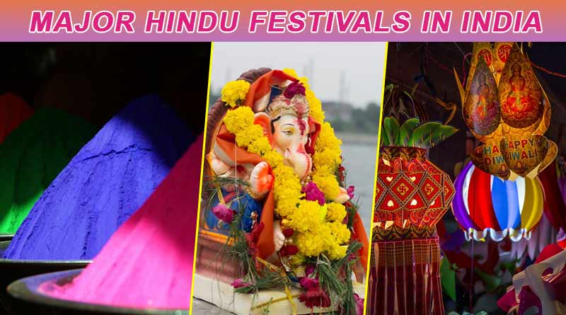 Major hindu festivals in India | famous hindu festivals