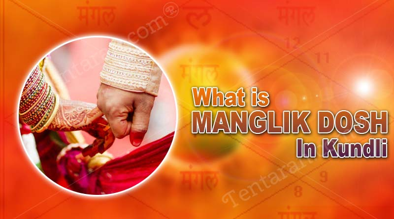 what is manglik dosh in kundli