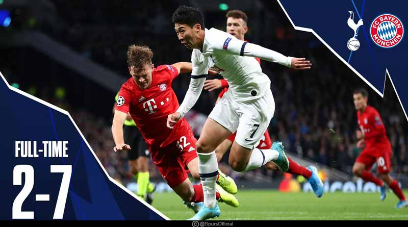 Bayern Tottenham Highlights