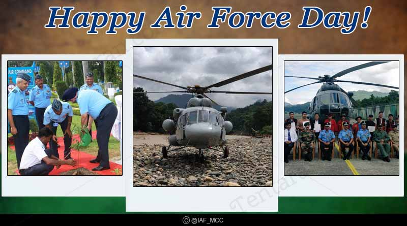 Happy Indian Air force day wishes images quotes photos