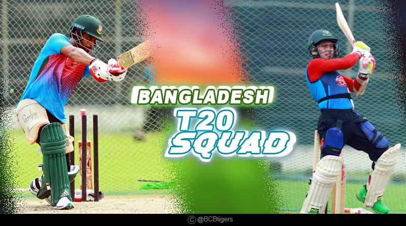 bangladesh t20 team squad 2019 vs india