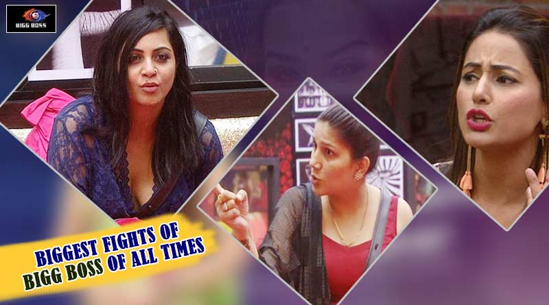 biggest fights of bigg boss of all time