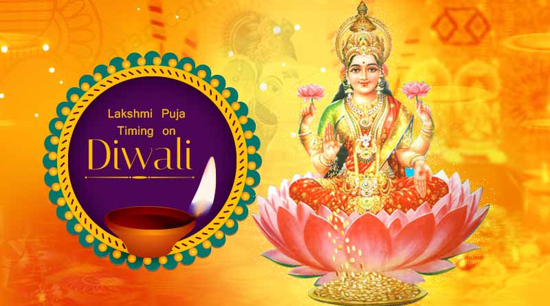 diwali lakshmi puja timing