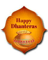 happy dhanteras whatsapp sticker1
