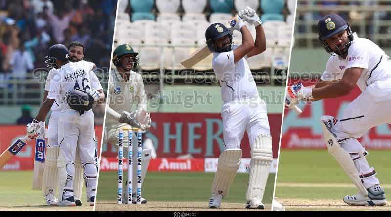 ind vs sa 2019 1st test match day 1 highlights