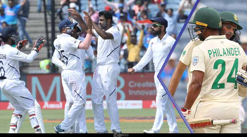 IND vs SA 2019: Bowlers gave India a Thumping Victory on Day 4 of the 2nd test Match