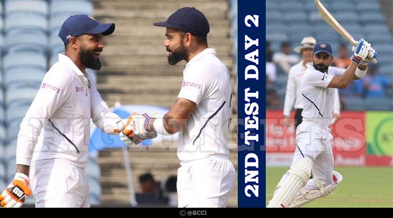 ind vs sa 2019 2nd test match day 2 highlights
