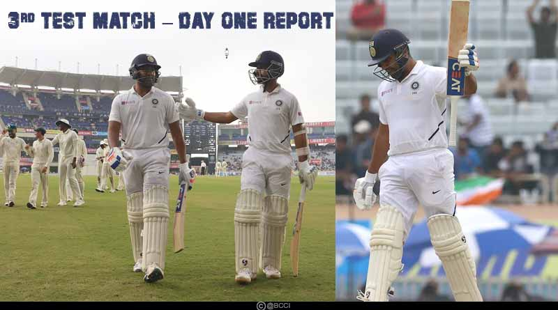 india vs south africa 2019 3rd test day 1 match highlights