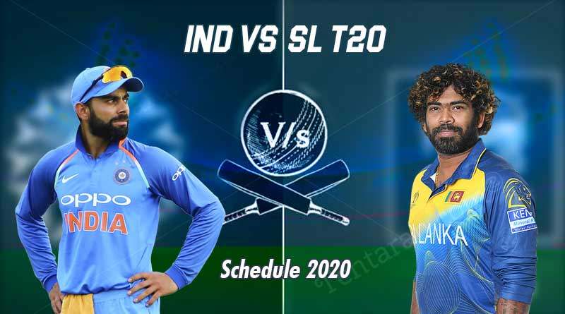 india vs sri lanka 2020 t20 match schedule