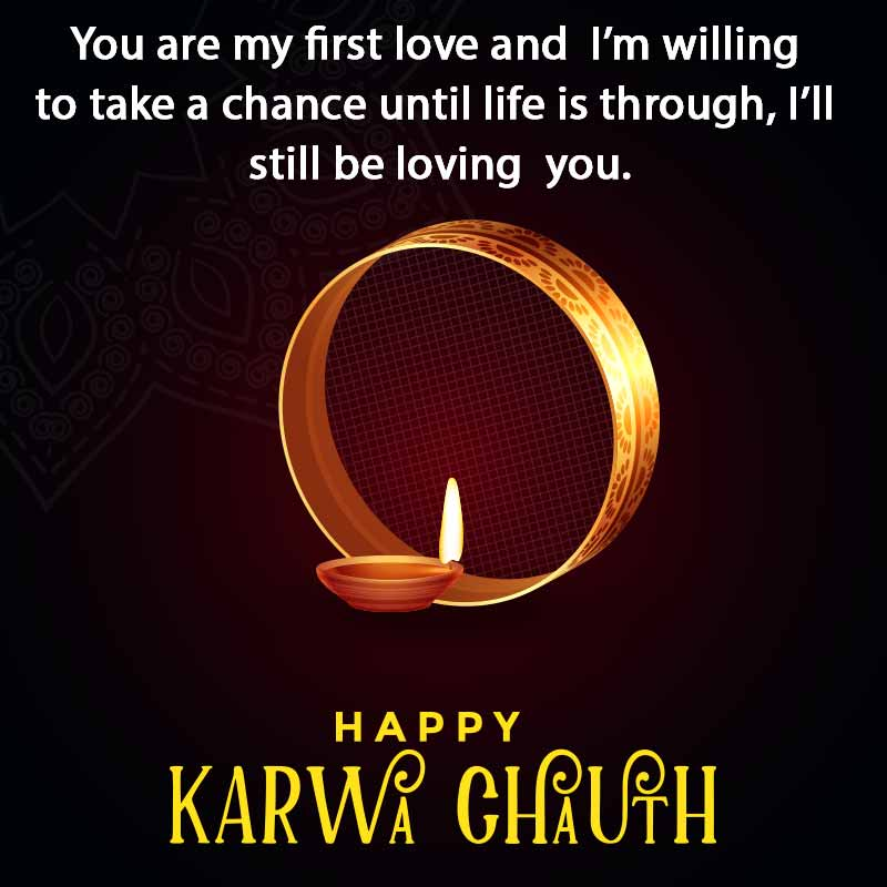 karwa chauth quotes with image1