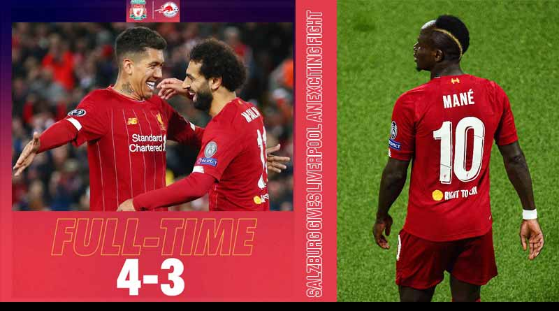 liverpool vs salzburg 2019 match highlights