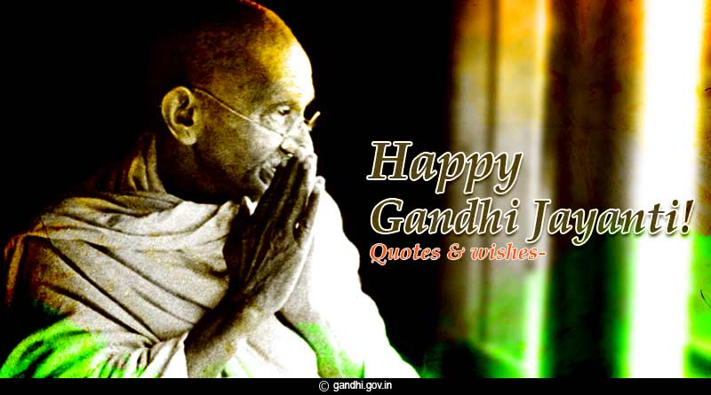 mahatma gandhi jayanti birthday quotes slogans images