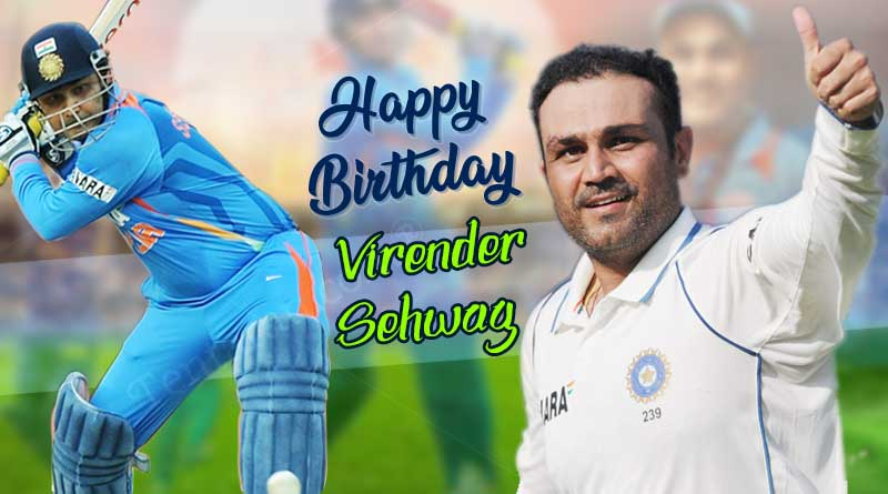 Happy birthday Virender Sehwag- Sehwag birthday wishes, photos, images