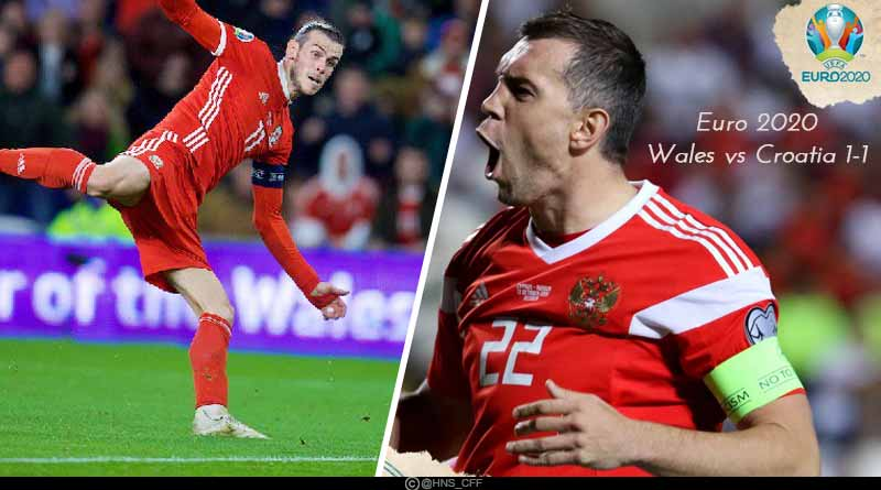 Euro Qualifiers 2020: Wales vs Croatia 1-1 Match Highlights