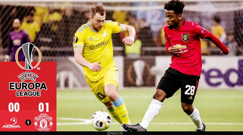 europa league 2019 manchester united vs fc astana highlights
