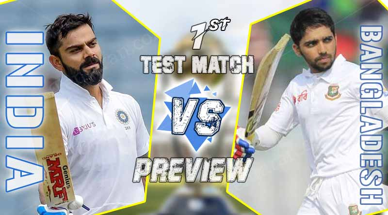 India Favourites to Win the 1st Test Match but they can't take Bangladesh Tigers lightly
