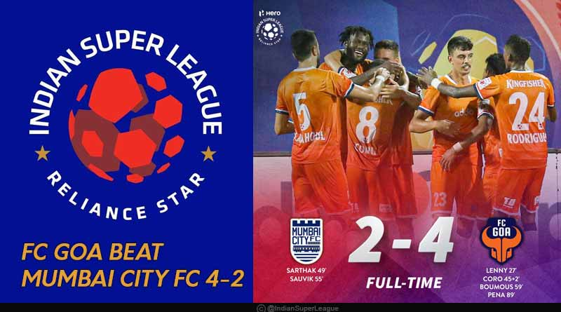 isl 2019 fc goa vs mumbai city fc highlights