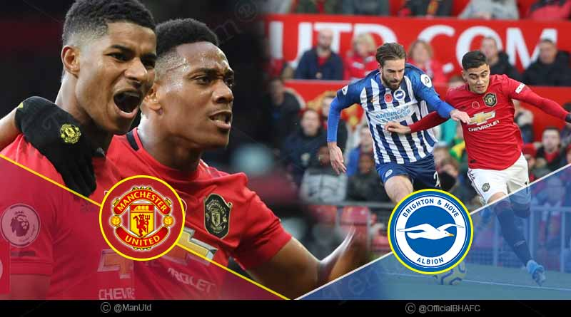 premier league 2019 manchester united vs brighton highlights