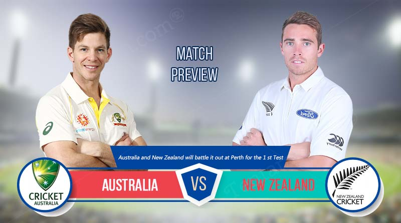 australia vs new zealand test match 2019
