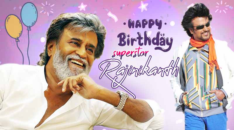 happy birthday rajinikanth photos