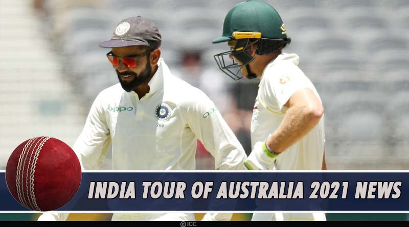 india vs australia series 2021 pink ball test news