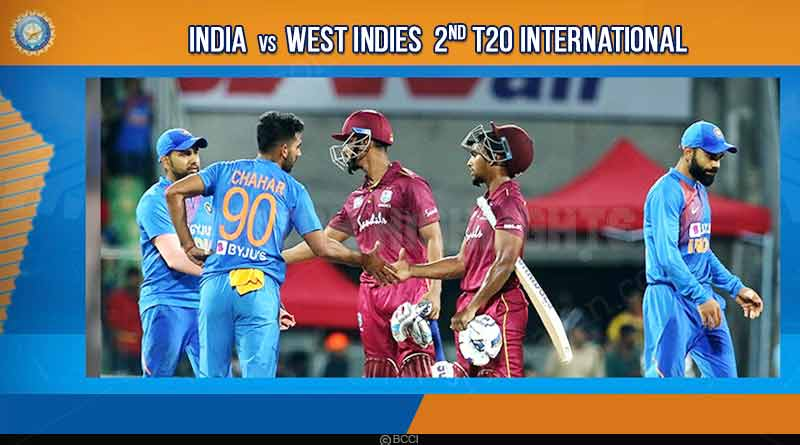 india vs west indies 2nd t20 match 2019 highlights