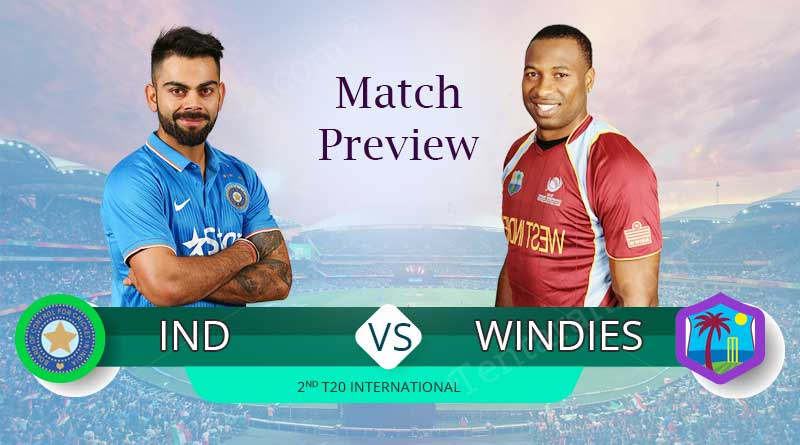 india vs west indies 2nd t20 match 2019