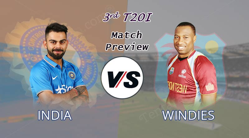india vs west indies 3rd t20 match 2019